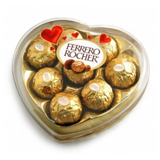 Hộp Tim Chocolate Ferrero Rocher (100g)